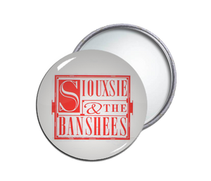 Siouxsie & the Banshees Round Pocket Mirror