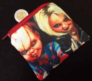 Chucky and Tiffanny Coin Purse
