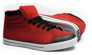 Casta Propaganda - Munra Astoria Red Unisex Sneaker