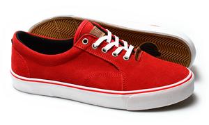 Casta Propaganda - Laslow Red Unisex Sneaker *CLEARANCE*