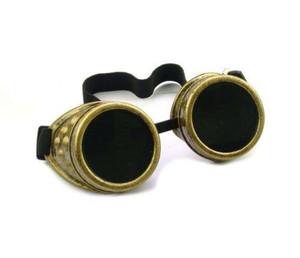 Plain Welding Goggles - Vintage Gold
