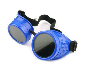 Plain Welding Goggles - Blueberry