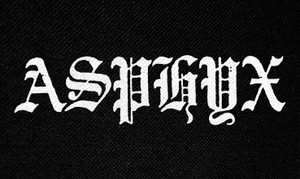 "Asphyx Logo 5x3"" Printed Patch"