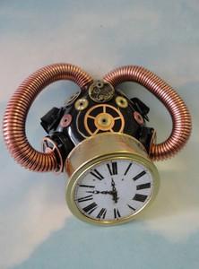 Respirator - Antique Clock Face