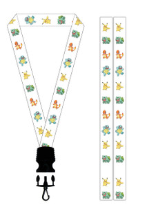 Pokemon Pikachu and the Gang Lanyard