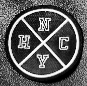 """New York Hardcore Logo 3x3"""" Embroidered Patch"""