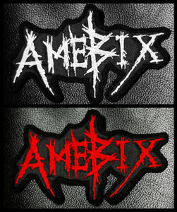 "Amebix Logo 5x2.5"" Embroidered Patch"