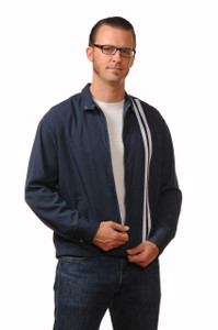Last Call - Navy Garage Racer Men's Jacket