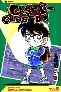 Case Closed Vol. 3 Manga Book