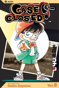 Case Closed Vol. 5 Manga Book