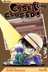 Case Closed Vol. 6 Manga Book