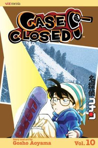 Case Closed Vol. 10 Manga Book