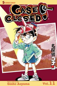 Case Closed Vol. 11 Manga Book