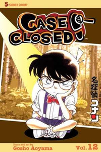 Case Closed Vol. 12 Manga Book