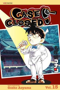 Case Closed Vol. 15 Manga Book