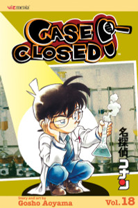 Case Closed Vol. 18 Manga Book
