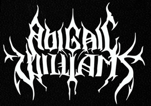 "Abigail Williams Logo 6x4"" Printed Patch"