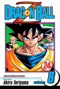 Dragon Ball Z Vol. 8 Manga Book