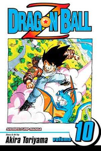 Dragon Ball Z Vol. 10 Manga Book
