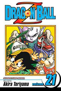 Dragon Ball Z Vol. 21 Manga Book