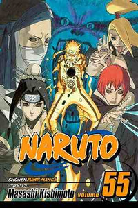 Naruto Vol. 55 Manga Book