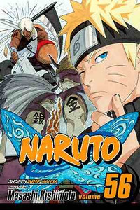 Naruto Vol. 56 Manga Book