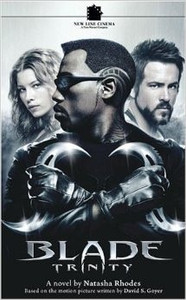 Blade Trinity Novel Manga Book