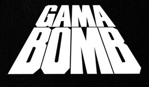 "Gama Bomb Logo 7x5"" Printed Patch"