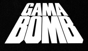"Gama Bomb - Logo 7x5"" Printed Patch"