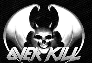 "Overkill - Bat Logo 6x4"" Printed Patch"
