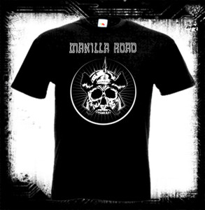 Manilla Road Skull Warrior T-Shirt Last Ones In Stock!