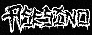 "Asesino Logo 7x3"" Printed Patch"