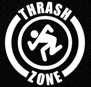 "D.R.I. Thrash Zone 5x5"" Printed Patch"