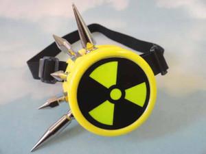 Goggles - Yellow Radioactive Mono Goggle