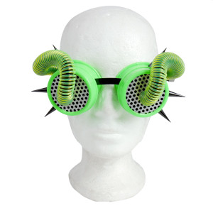 Goggles - Green Tubes