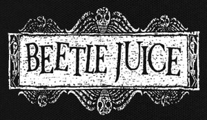"Beetlejuice 5.5x3.5"" Printed Patch"