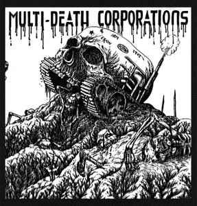 "Multi-Death Corporations 5.5x5.5"" Printed Patch"
