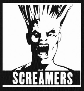 "The Screamers 5X5.5"" Printed Patch"