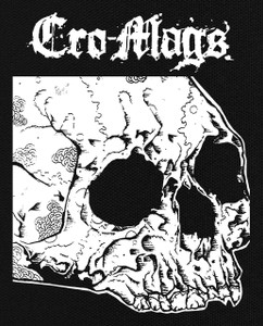 "Cro-Mags Skull 5X6"" Printed Patch"