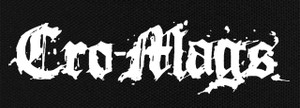 "Cro-Mags Logo 8X3"" Printed Patch"