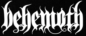 "Behemoth Logo 9x4"" Printed Patch"