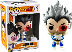Pop! Figurines - DBZ's Vegeta #10