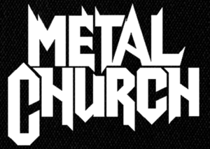 "Metal Church Logo 5x4"" Printed Patch"