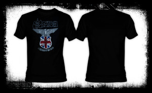 Saxon - Warriors of the Road T-Shirt