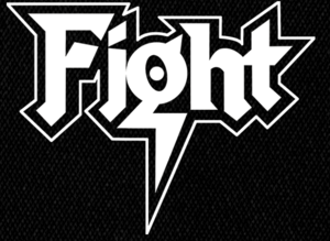 "Fight Logo 5x4"" Printed Patch"