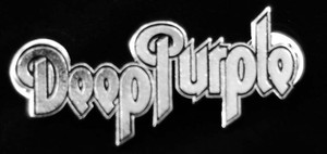 "Deep Purple - Logo 2"" Metal Badge Pin"