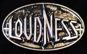 "Loudness - Logo 3.5"" Metal belt buckle"