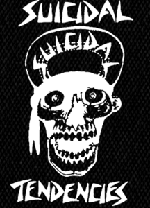 "Suicidal Tendencies Skull 4x6"" Printed Patch"