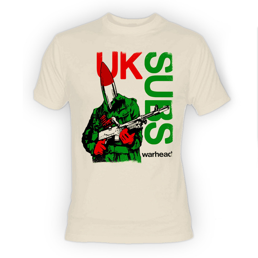 UK Subs Warhead T-Shirt
