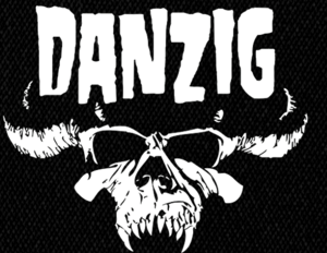 "Danzig - Logo 6X5"" Printed Patch"